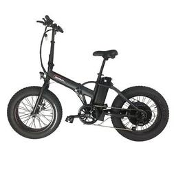 """20"""" 500W Foldable Electric Bicycle 6 Speed 2 Modes E-Bike 23"""