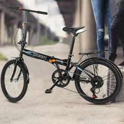 Leisure 20in 7 Speed ​​City Folding Mini Compact Bike Bi