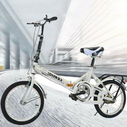 20 Inch Lightweight Mini Folding Bike Small Portable Bicycle