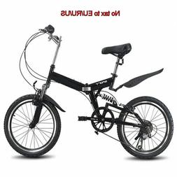 20inch folding mountain bike 6 variable speed bicycle road b