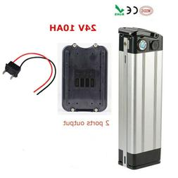 24V 10AH Lithium Battery for 200W 250W Electric Bicycles E-B