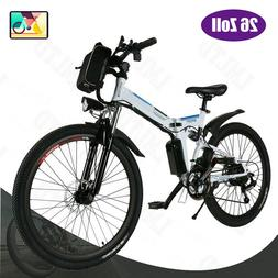 26'' Electric Bike Folding Mountain Bicycle City Ebike Shima
