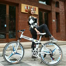 26-inch foldable mountain bike 21/24/27 speed cross country