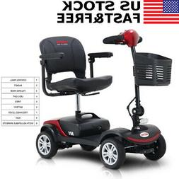 4 wheel electric mobility scooter travel transportable