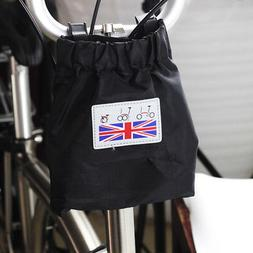 Camouflage Basket Bag with Frame Fasten Cover for Brompton F
