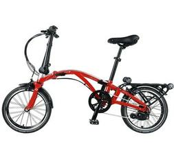 Dahon Curl i8 35th Anniversary Red/Silver Folding Bike Bicyc