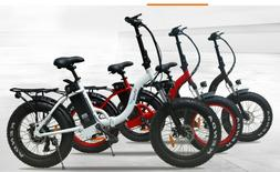 EBIKE folding 750w Fat tire bike. Power and Distance. Only 2