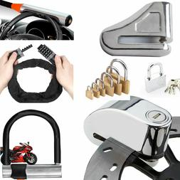 Foldable Bicycle Chain Lock Strong Steel Motorcycle Ring Ant