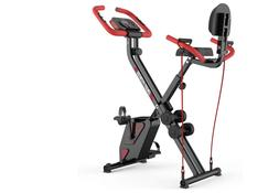 Foldable Exercise Bike Cardio Weight Loss Fitness Gym Equipm