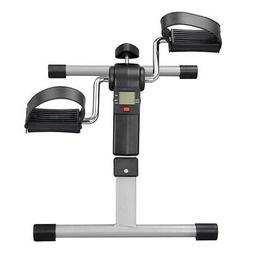 Foldable Mini Digital Pedal Stepper Exerciser Cycle Fitness