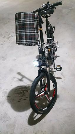 Folding Bicycle, Portable Bicycle Ultra Light Small Bicycle
