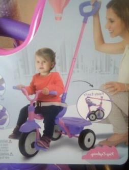 Folding Fun 2-in-1 Toddler Tricycle 15 months up Purple 3 Wh
