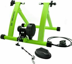 Indoor Bike Magnetic Trainer Stand 6 Levels of Resistance -