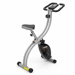 ATIVAFIT Indoor Cycling Bike Folding Magnetic Upright Bike S