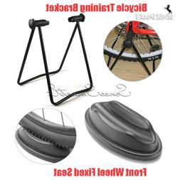 Indoor Exercise Bicycle Foldable Training Stand Rack + Front