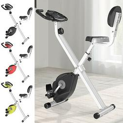 Foldable Upright Training X-Bike with Magnetic Resistance