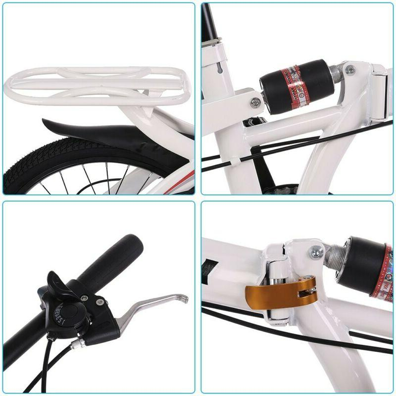20in 7-speed folding compact with shock absorption brake