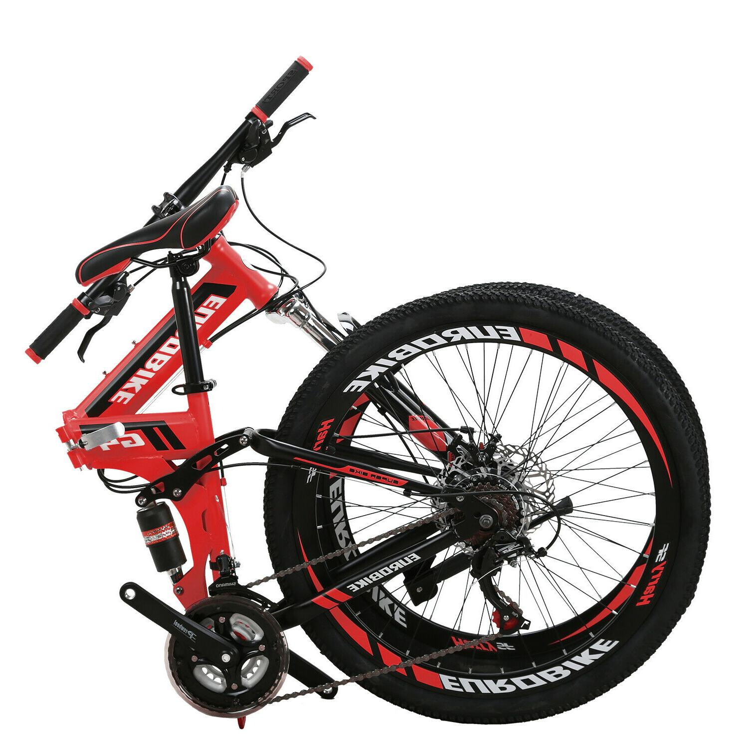 26 full suspension mountain bike 21 speed