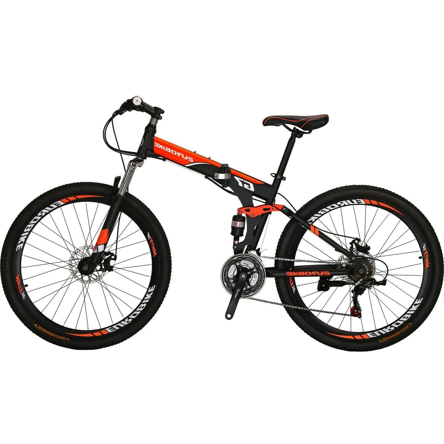 """27.5"""" 21 Foldable frame Bicycle"""