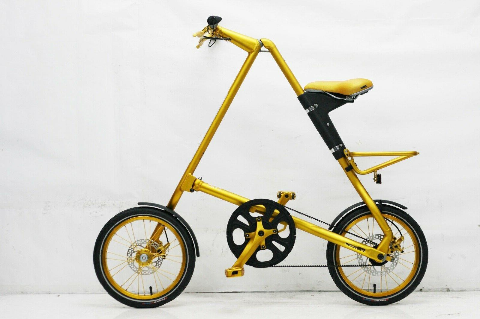 5 0 folding bicycle limited edition gold