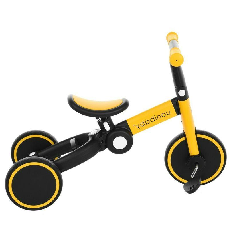 5-In-1 Foldable Bike Kids Toy Cycling Bicycle