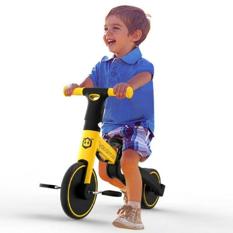5-In-1 Bike Kids Tricycle Toy Cycling