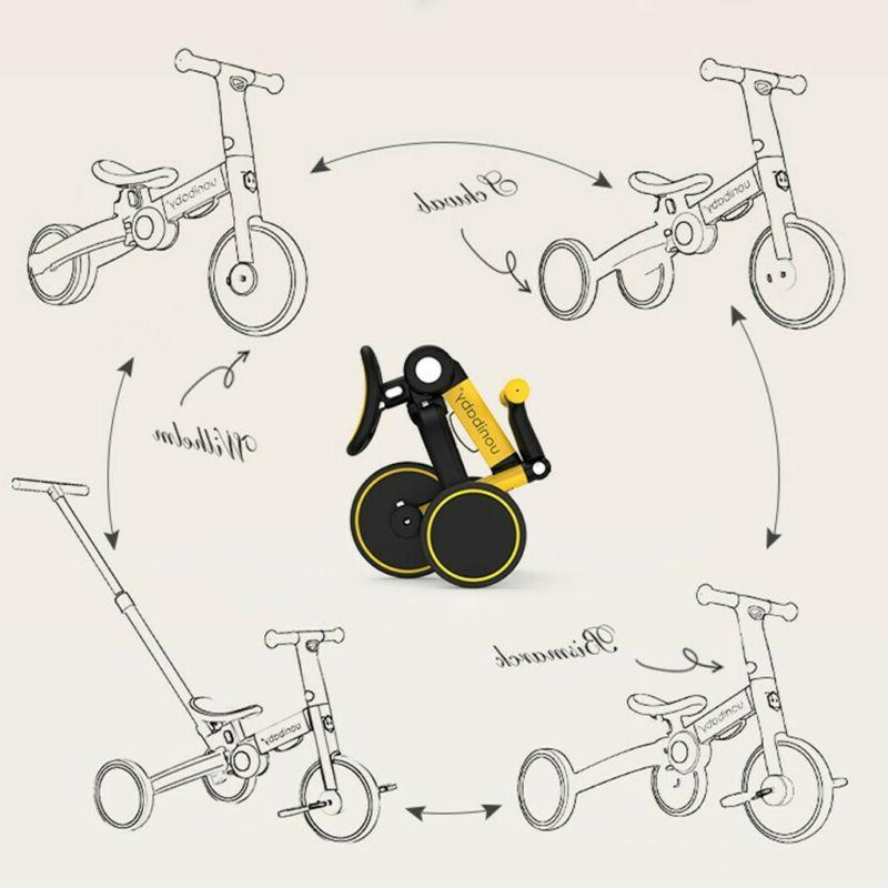 5-In-1 Kids Toy Bicycle