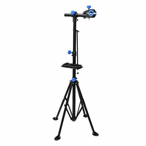 Adjustable Height Bicycle Maintenance Station