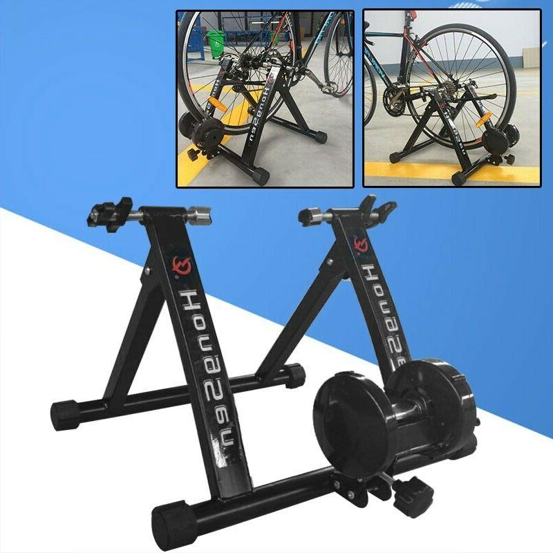 bicycle trainer stationary magnetic bike cycle stand