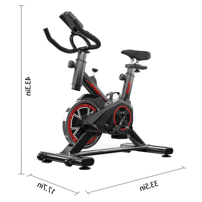 Exercise Bike Stationary Indoor Workout LCD