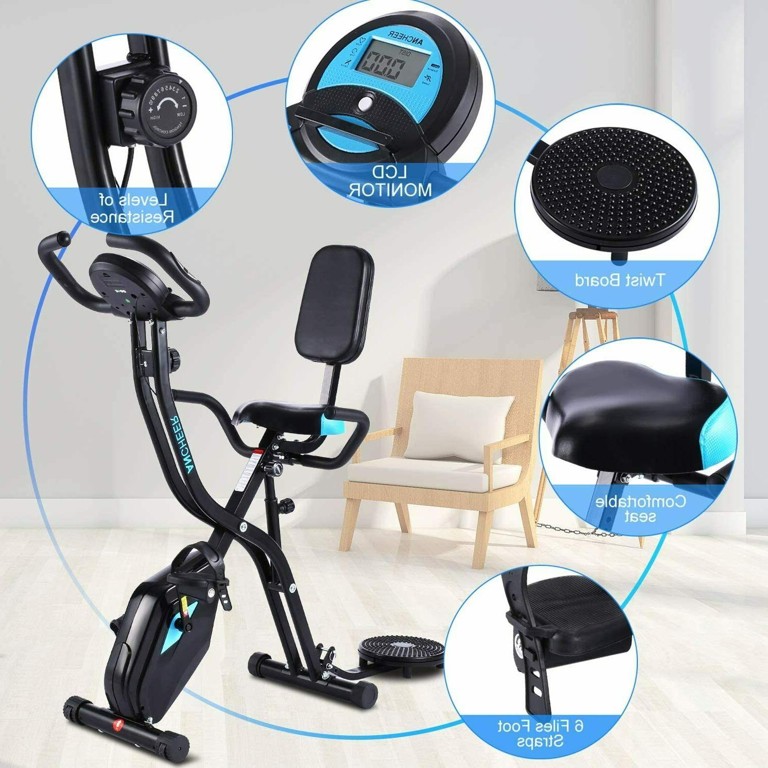 Fitness Exercise Bikes F-Rider,Foldable Trainer
