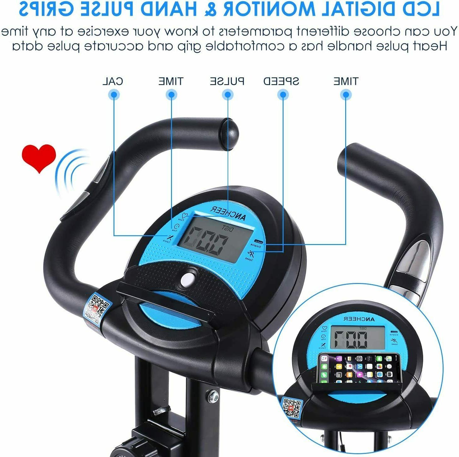 Fitness F-Rider,Foldable Indoor 10Resistance Level