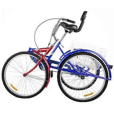 Foldable Tricycle Adult Wheels 3 Wheel Bikes