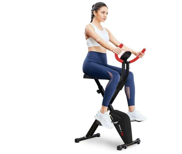 foldable portable exercise bike weight loss fitness