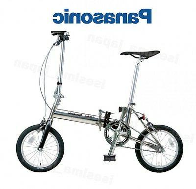 folding bicycle 14inch titanium alloy super light