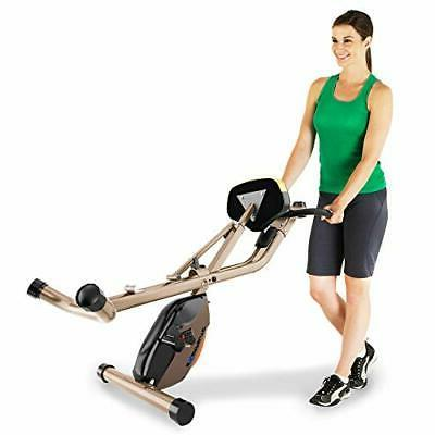 Exerpeutic GOLD 500 Foldable Bike, lbs