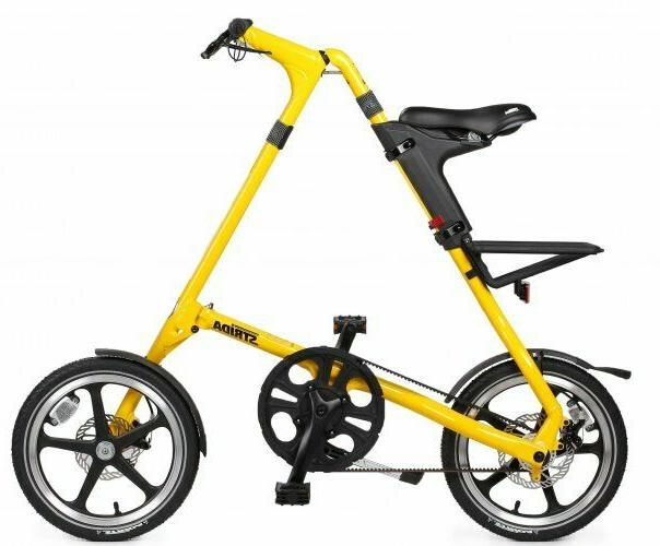 lt folding bicycle yellow brand new free