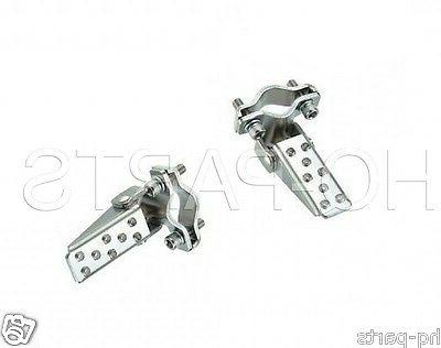 show bike bilcycle foldable foot step pegs