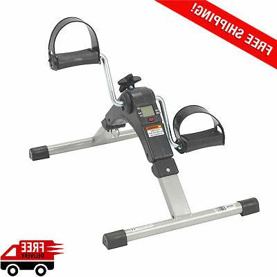 portable pedal folding electronic display fitness gym