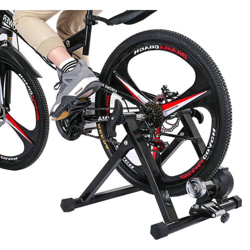 portable resistance bike trainer indoor bicycle exercise