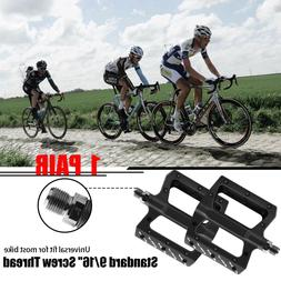 Road Mountain Bike Pedals Aluminum Flat Platform Sealed Bear