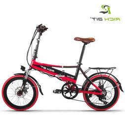 RICHBIT Portable E-Bike 48V Folding Electric bicycle 250W po