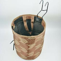 Practical Foldable Bicycle Basket Without Cover Round Size B