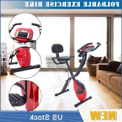Recumbent Upright Foldable Exercise Bike Fitness X Bike with