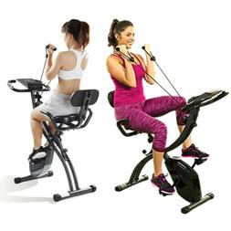 Slim Cycle Exercise Bike Stationary Folding Indoor Seen Tv P