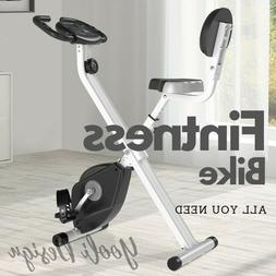 Stable Upright Bike Foldable Exercise Bicycle Trainer Bike C