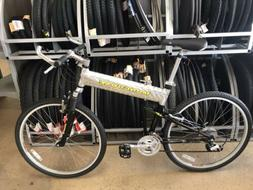 Mongoose Transport Full-Size Folding Bicycle w/Carrying Case