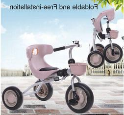 Tricycle for kids 3 to 5 yrs  foldable Trikes Kids Bike Ride