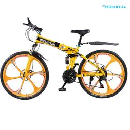 Altruism X9 26-Inch FOLDING Steel 24 Speed Mountain Bike-NOT