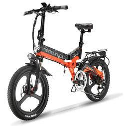 "Electric Bike Cyrusher XF590 500W 20"" 48V City Bike Folding"